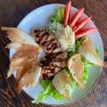 салат з куриною грудкою
